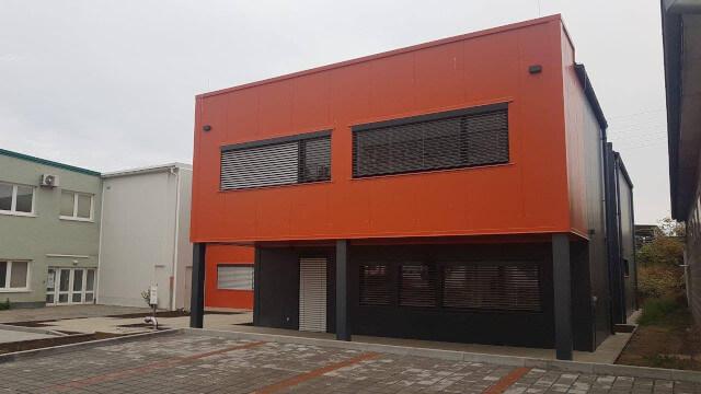 Administrativní budova společnosti PLASMAMETAL, spol. s r.o. v Brně